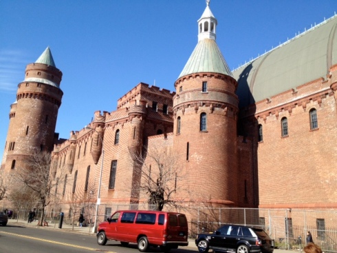 How problematic is a legal battle between Kingsbridge Armory ice palace partners? Photo by J. Moss